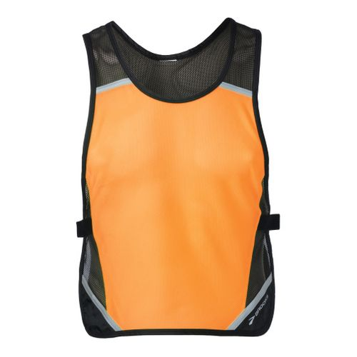 Brooks Nightlife Reflective Vest II Safety - Brite Orange/Antique L/XL