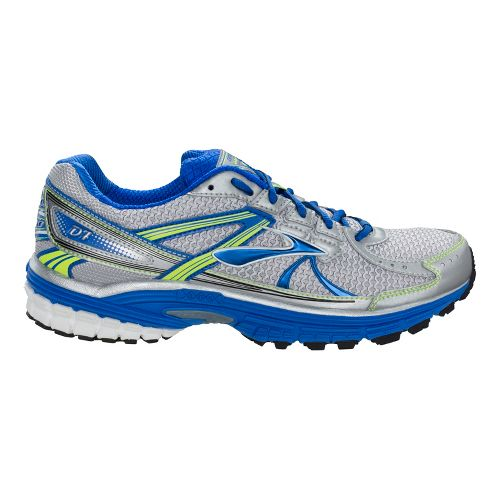 Mens Brooks Defyance 7 Running Shoe - Electric/Silver 12.5