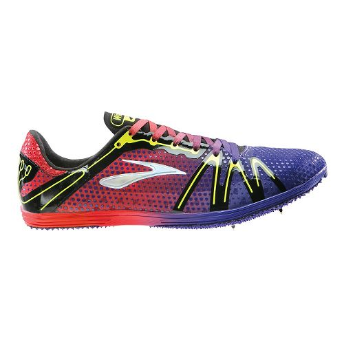 Brooks The Wire 3 Track and Field Shoe - Deep Blue/Orange 6