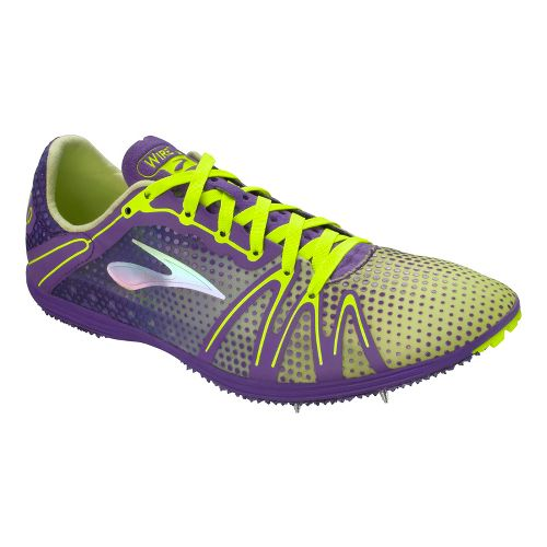 Brooks The Wire 3 Track and Field Shoe - Royal Purple/Nightlife 6.5