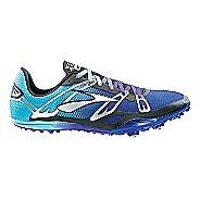 Brooks 2 ELMN8 Track and Field Shoe - Deep Blue/Radiance 12