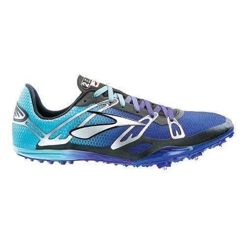 Brooks 2 ELMN8 Track and Field Shoe - Deep Blue/Radiance 7.5