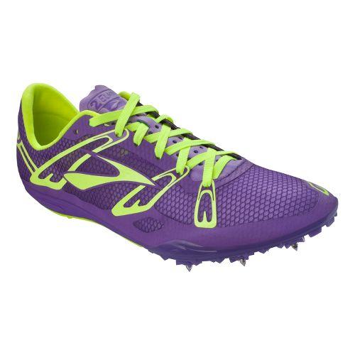 Brooks 2 ELMN8 Track and Field Shoe - Royal Purple/Nightlife 9.5