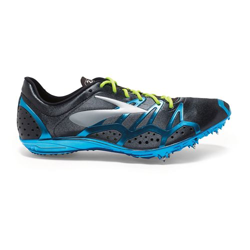 Brooks 2 QW-K Track and Field Shoe - Black/Nightlife 15