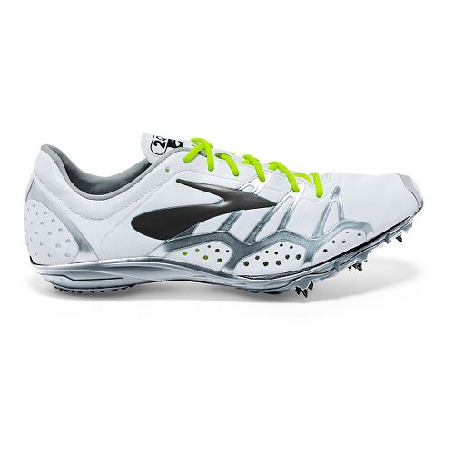 Brooks 2 QW-K Track and Field Shoe - White/Black 11.5