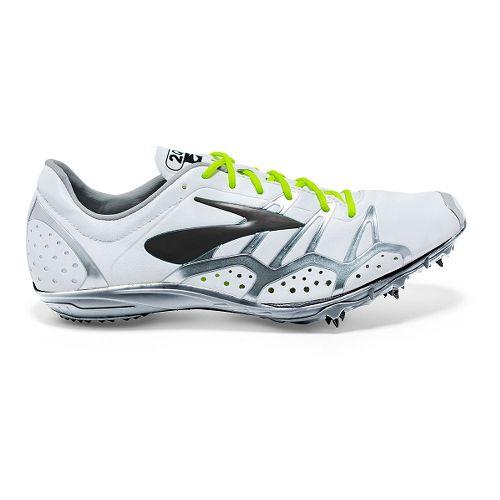 Brooks 2 QW-K Track and Field Shoe - White/Black 15