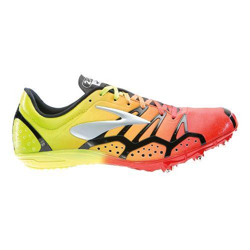 Brooks 2 QW-K Track and Field Shoe - Orange/Nightlife 6.5
