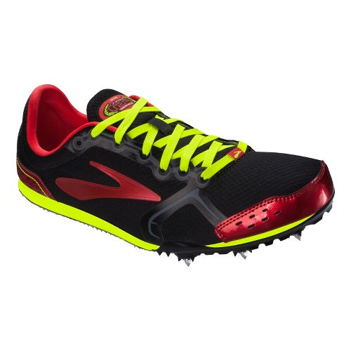 Mens Brooks PR LD 4:10 Track and Field Shoe - Red 12