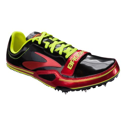 Mens Brooks PR Sprint 10.45 Track and Field Shoe - Red 11.5