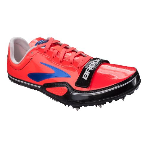 Womens Brooks PR Sprint 11.38 Track and Field Shoe - Fiery Coral 10.5