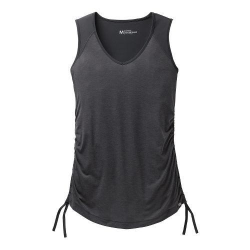 Womens Brooks PureProject Sleeveless Technical Tops - Black XL