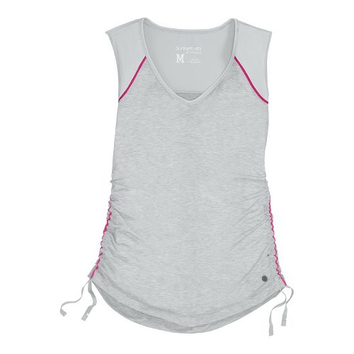 Womens Brooks PureProject Sleeveless Technical Tops - Fog/Heather XS