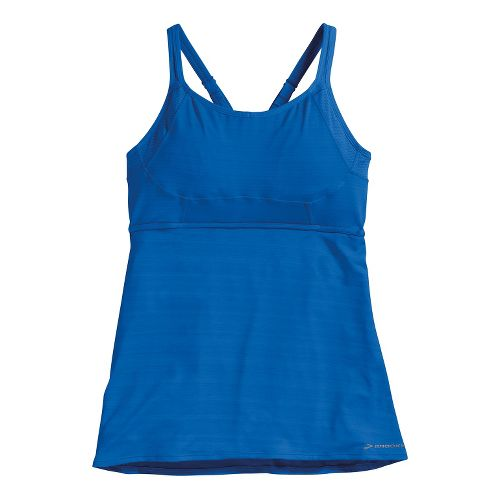 Womens Brooks Infiniti Support Tank A/B Bras - Electric L