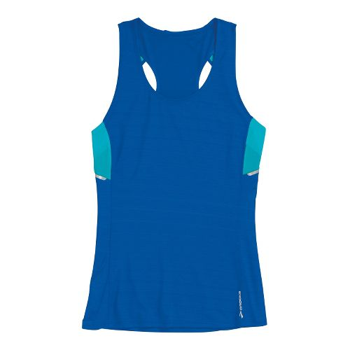 Womens Brooks Infiniti Sleeveless Technical Tops - Electric/Caribbean L