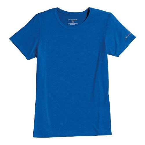 Womens Brooks EZ T III Short Sleeve Technical Tops - Electric S