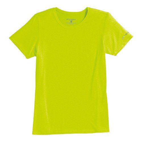 Womens Brooks EZ T III Short Sleeve Technical Tops - Nightlife S