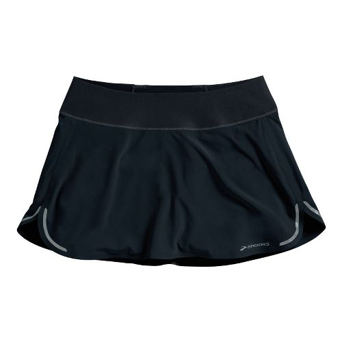 Womens Brooks Infiniti Skort Fitness Skirts - Black L