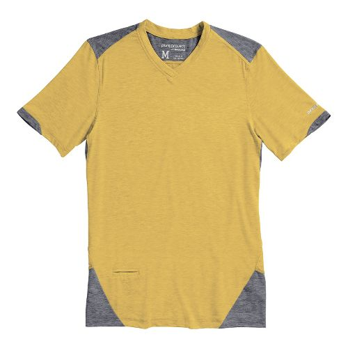 Mens Brooks PureProject Short Sleeve Technical Tops - Flint XXL