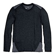 Mens Brooks PureProject Long Sleeve No Zip Technical Tops
