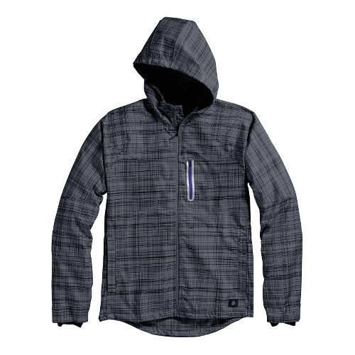 Mens Brooks PureProject Running Jackets - Anthracite L
