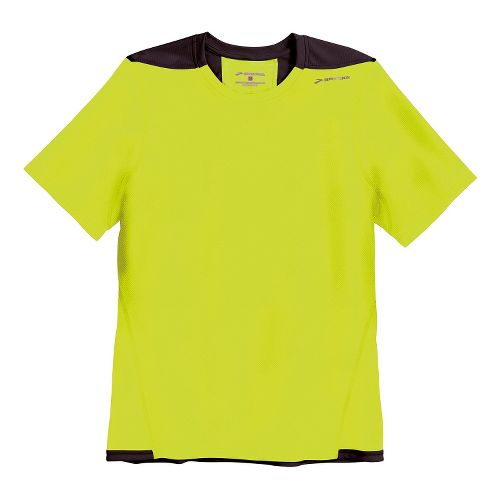 Mens Brooks Rev SS III Short Sleeve Technical Top - Nightlife L