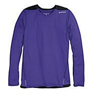 Mens Brooks Rev III Long Sleeve No Zip Technical Tops