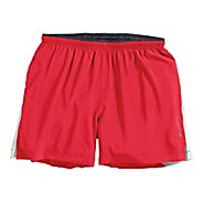 "Mens Brooks Sherpa IV 5"" Lined Shorts"