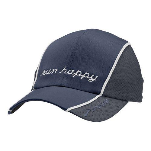 Brooks HVAC Run Happy Hat II Headwear - Midnight