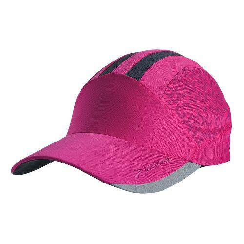 Brooks Printed Mesh Hat Headwear - Fuchsia/Fuchsia Digi Print