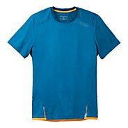 Mens Brooks Infiniti Short Sleeve Technical Tops