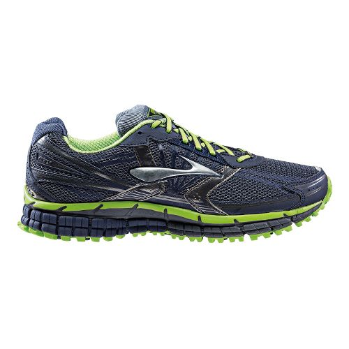 Mens Brooks Adrenaline ASR 11 GTX Trail Running Shoe - Ombre Blue/Peacoat 11