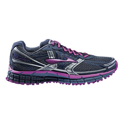 Womens Brooks Adrenaline ASR 11 GTX Trail Running Shoe - Indigo/Midnight 10