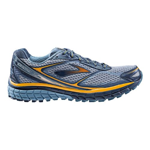 Mens Brooks Ghost 7 GTX Running Shoe - Midnight/Storm 14