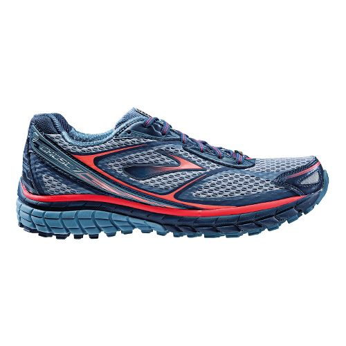 Womens Brooks Ghost 7 GTX Running Shoe - Storm/Midnight 10