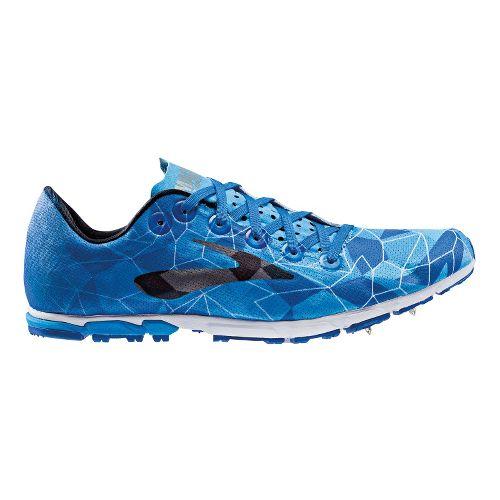 Mens Brooks Mach 16 Cross Country Shoe - Aquarius 6.5