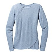 Womens Brooks PureProject Henley Long Sleeve No Zip Technical Tops
