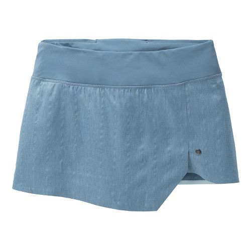 Womens Brooks PureProject Reflective Skort Fitness Skirts - Breeze/Storm S