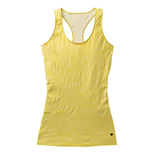 Womens Brooks PureProject Seamless II Tanks Technical Tops - Corona/Heather L