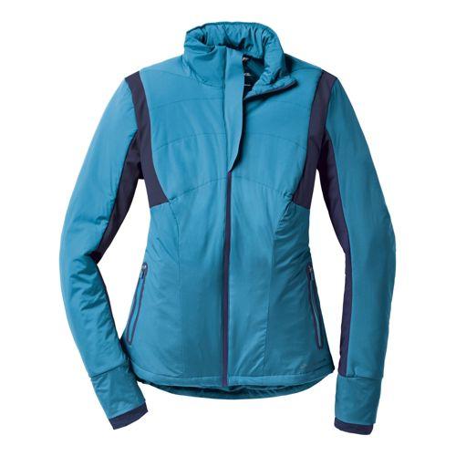 Womens Brooks Adapt Running Jackets - Aurora/Midnight M
