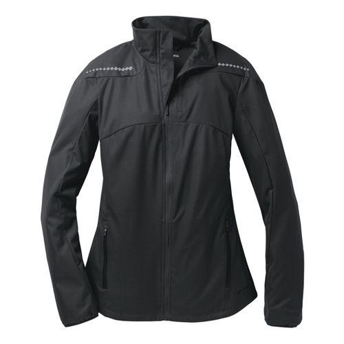Womens Brooks Infiniti IV Running Jackets - Black XL