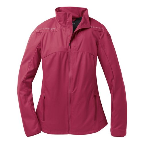 Womens Brooks Infiniti IV Running Jackets - Heather Jam XS