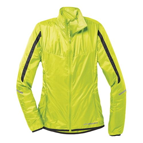 Womens Brooks LSD Lite IV Running Jackets - Nightlife XL