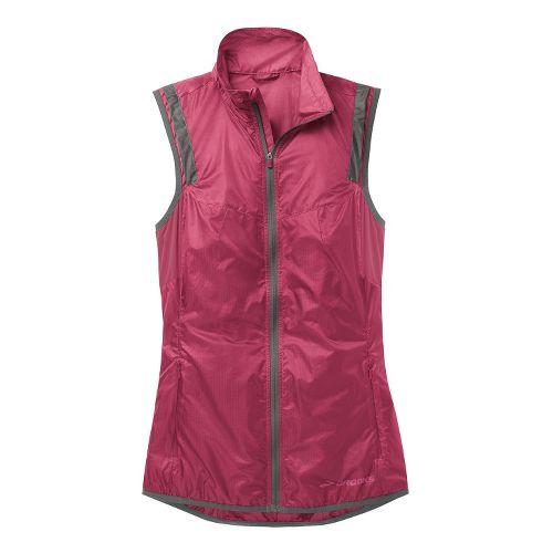 Womens Brooks LSD Lite II Running Vests - Jam/Mako XL
