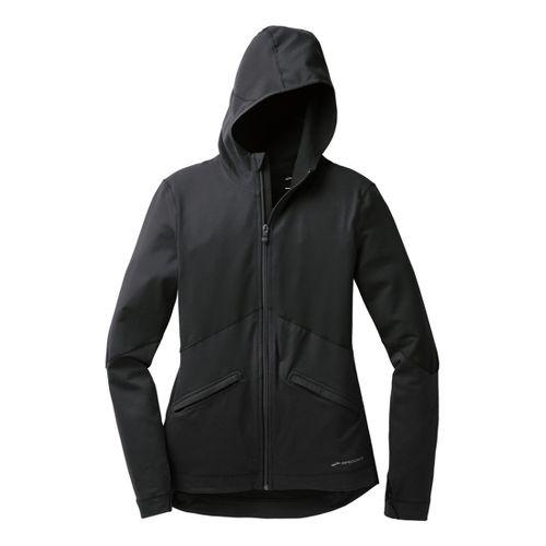Womens Brooks Utopia Thermal Hoodie III Running Jackets - Black L
