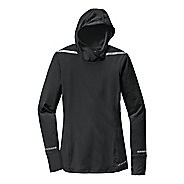 Womens Brooks Nightlife Long Sleeve No Zip Technical Tops