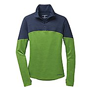 Womens Brooks Essential III Long Sleeve 1/2 Zip Technical Tops