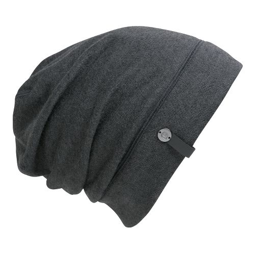 Brooks PureProject Beanie Headwear - Heather Black/Black