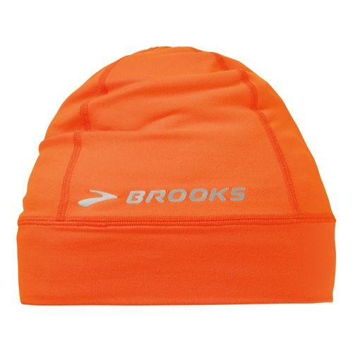 Brooks Essential Beanie Headwear - Brite Orange