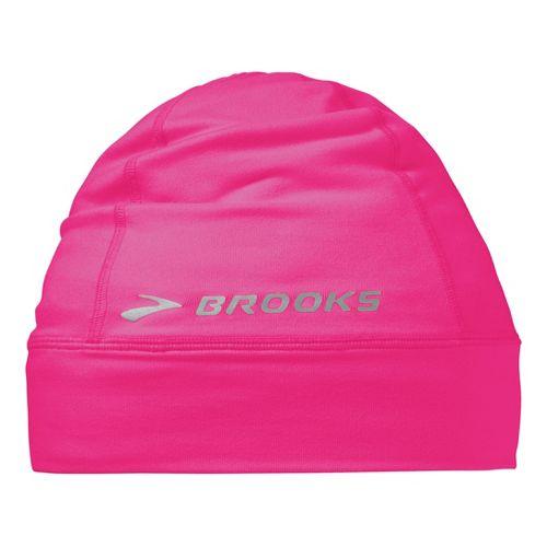 Brooks Essential Beanie Headwear - Brite Pink