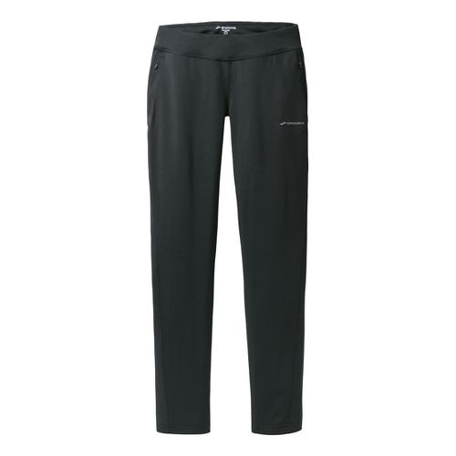 Womens Brooks Spartan Pant III - Regular Full Length Pants - Black XS